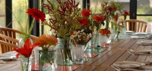vaso para mesa de jantar lindo e simples
