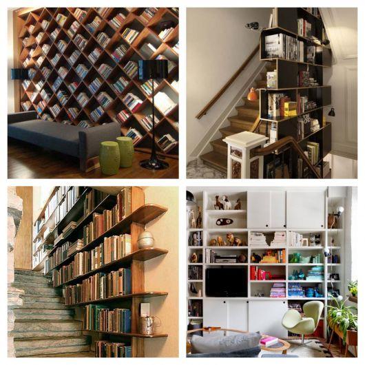 De acordo com muitas tendências e projetos modernos, é possível deixar a sua casa mais bonita usando livros decorativos