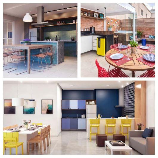 Esse projeto é adequado para os mais variados espaços, com estilos e conceitos diversos