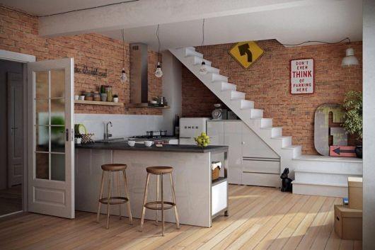 Lindo projeto rústico para apartamentos ou área gourmet