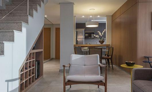 Uma vez que definido o estilo decorativo de sua casa, você pode adaptar o armário com as cores certas