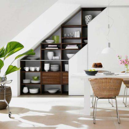 Lindo projeto sofisticado com estante que incrementa a decoração de sua sala