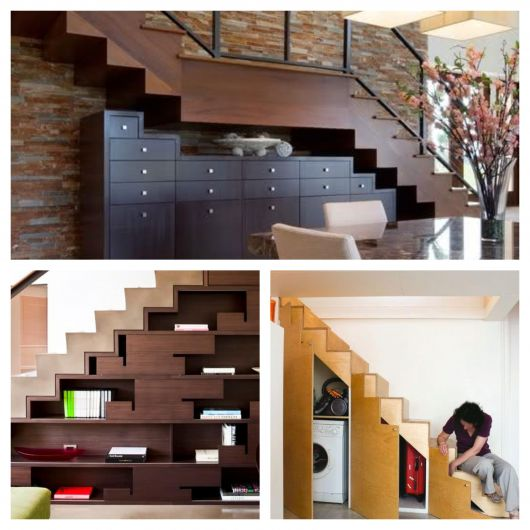 Os melhores projetos de armário embaixo da escada para todos os estilos e espaços
