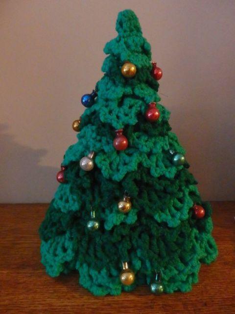 árvore de barbante verde