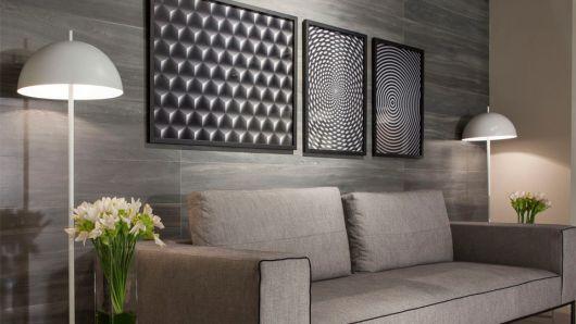 azulejos para sala cinza