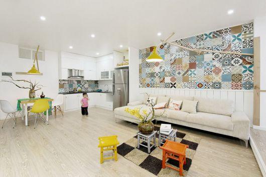 azulejos para sala clean