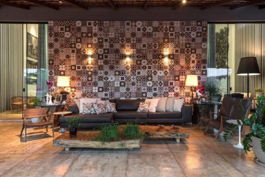 azulejos para sala colorido