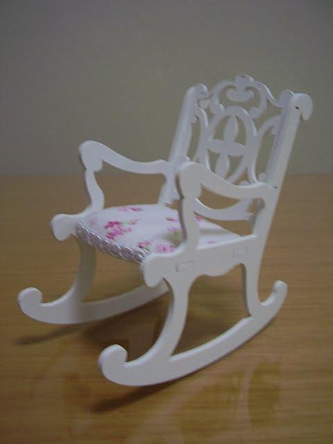 cadeira provençal de balanço infantil