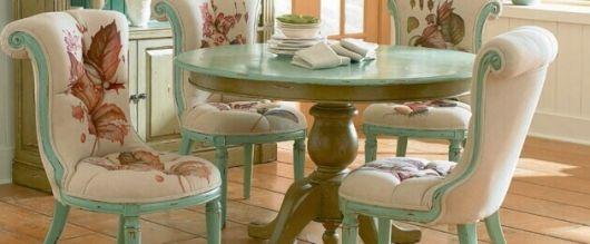 cadeira provençal verde