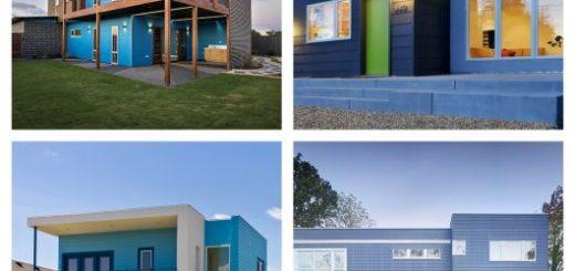 6 cores de casas modernas e inspirações de todos os estilos!