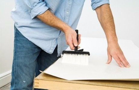 passo a passo papel de parede com cola