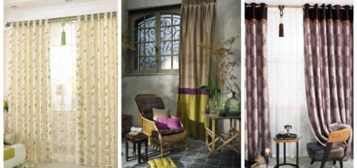 Há muitos modelos de cortinas elegantes para você escolher