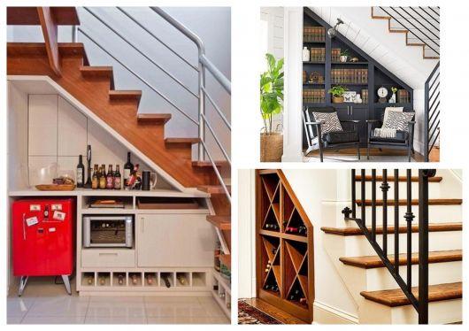 Aprenda a fazer uma decoração maravilhosa embaixo da escada