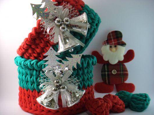 Que tal então uma decoração de mesa em crochê?