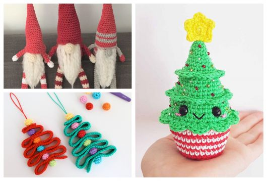 O vermelho e o verde são tons presentes nos enfeites natalinos!