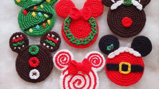 Inspirações de porta copos decorados para usar no Natal