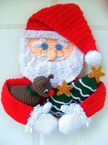 Enfeite de Natal de crochê super criativo