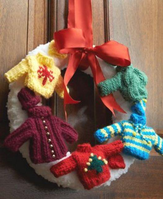 Use a criatividade assim para criar uma guirlanda de crochê linda!