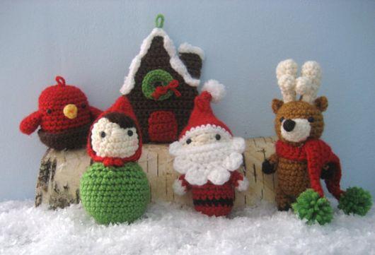Dica para você fazer uma decoração de Natal com crochê