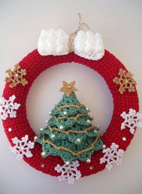 As guirlandas são os enfeites mais usados no Natal