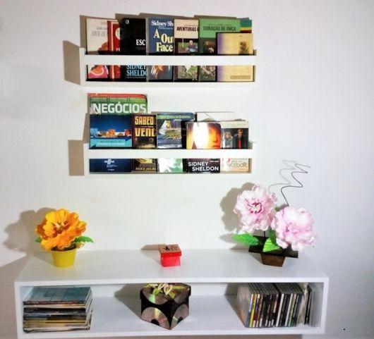 Os nichos trazem mais cor e não ocupam espaço, além de serem alternativas viáveis e acessíveis