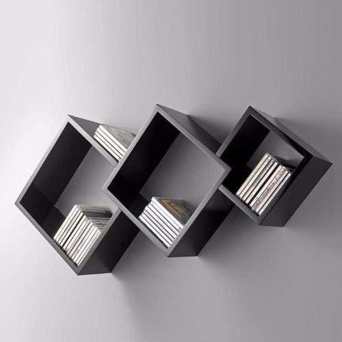 A disposição dos nichos faz toda a diferença, bem como o modo de distribuir os livros no local