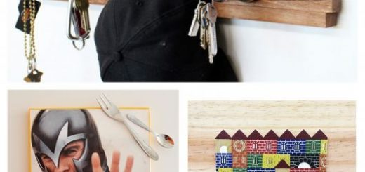 40 modelos de porta-chaves criativos para todos os gostos
