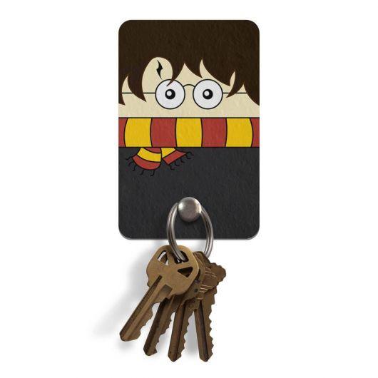 Para os geeks, um porta-chaves inspirado em Harry Potter