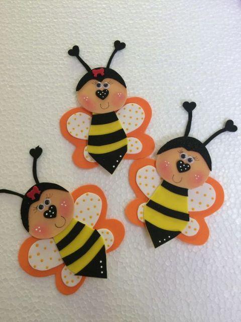 como fazer e decorar abelhinha