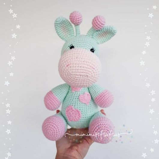 Bichinho Crochê Girafa Leão Elefante Amigurumi - R$ 219,90 em ... | 530x530