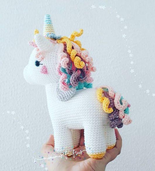 Unicornio Enrico | Agujas de Tonia | 585x530