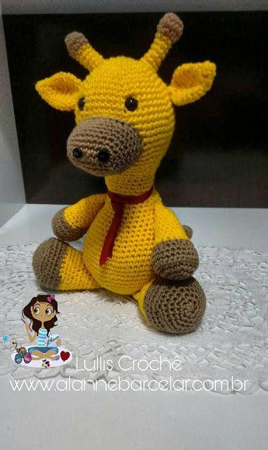 Kit Ovelha De Crochê Amigurumi + Girafa De Crochê Amigurumi Rosa ... | 640x382