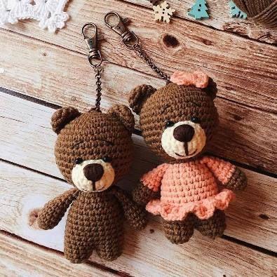 Urso em amigurumi com retalhos - Artigos infantis - Residencial ... | 395x395