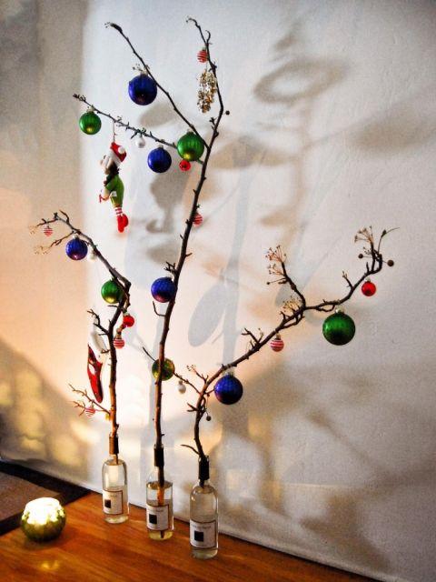 decoração sustentável natal