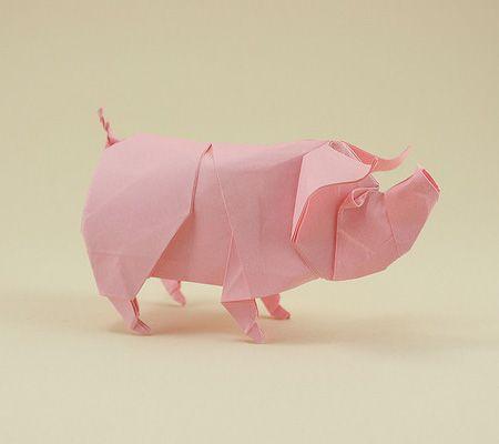 Dobraduras de animais: Porco