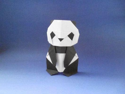 Dobraduras de animais: Panda