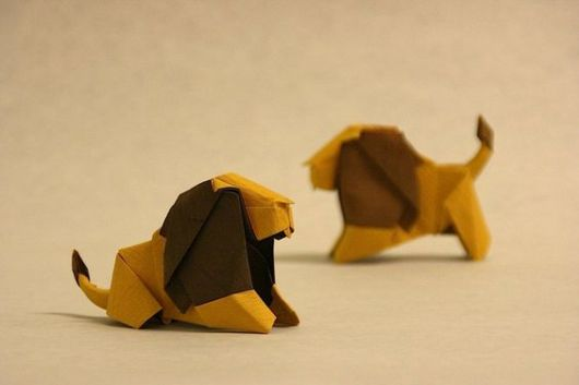 Dobraduras de animais: Leão