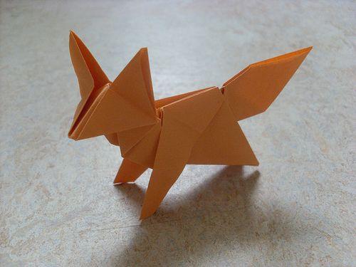 Dobraduras de animais: Raposa