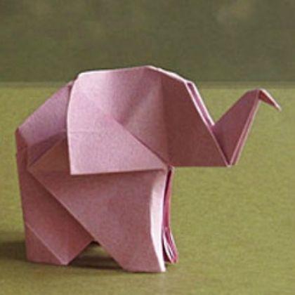 Dobraduras de animais: Elefante