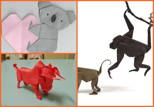 Dobraduras de animais: Inspirações