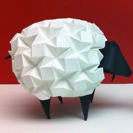 Dobraduras de animais: Ovelha