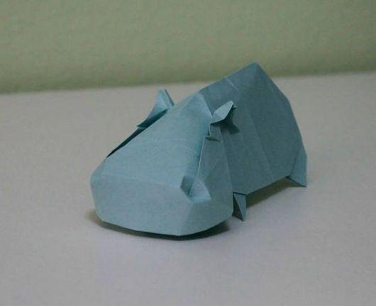 Dobraduras de animais: Hipopótamo