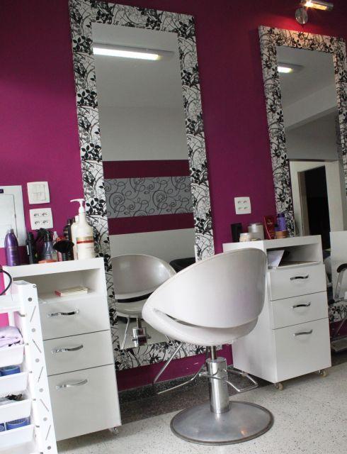 salão de cabeleireiro simples