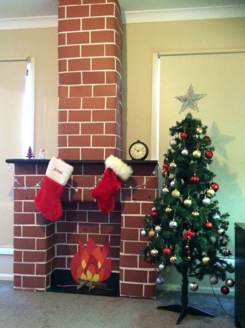 Lareira De Papel 227 O 37 Ideias Bel 237 Ssimas Para O Natal