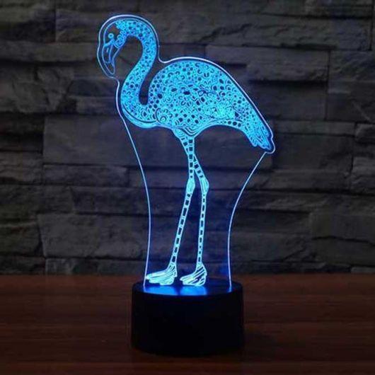 luminária azul