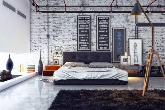 Ideias interessantes de quadros verticais na parede rústica