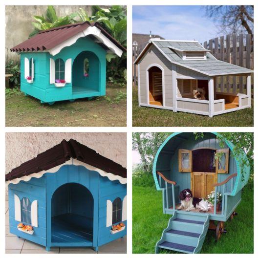 70 modelos de casinha de cachorro grande para todas as necessidades