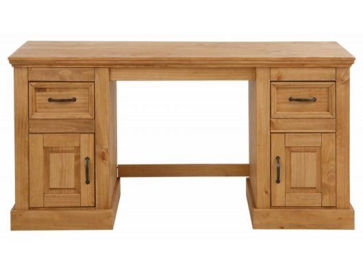 Modelo de escrivaninha de madeira maciça