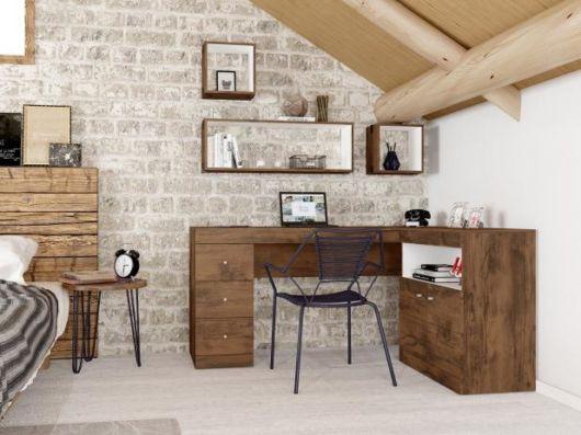 Quer um home office, mas não tem espaço? Faça em seu quarto!