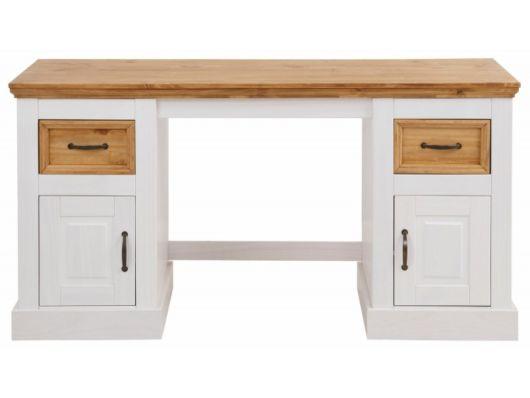 Dica de escrivaninha super estilosa de madeira maciça